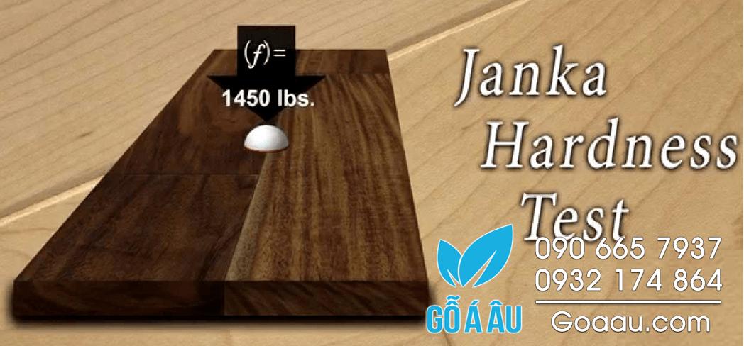 Độ cứng của gỗ (janka hardness)