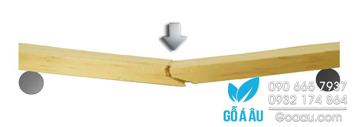Độ giòn của gỗ (Modulus of Rupture)