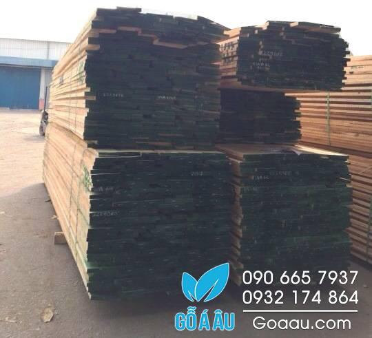 giá gỗ sồi trắng - gỗ Oak nhập khẩu