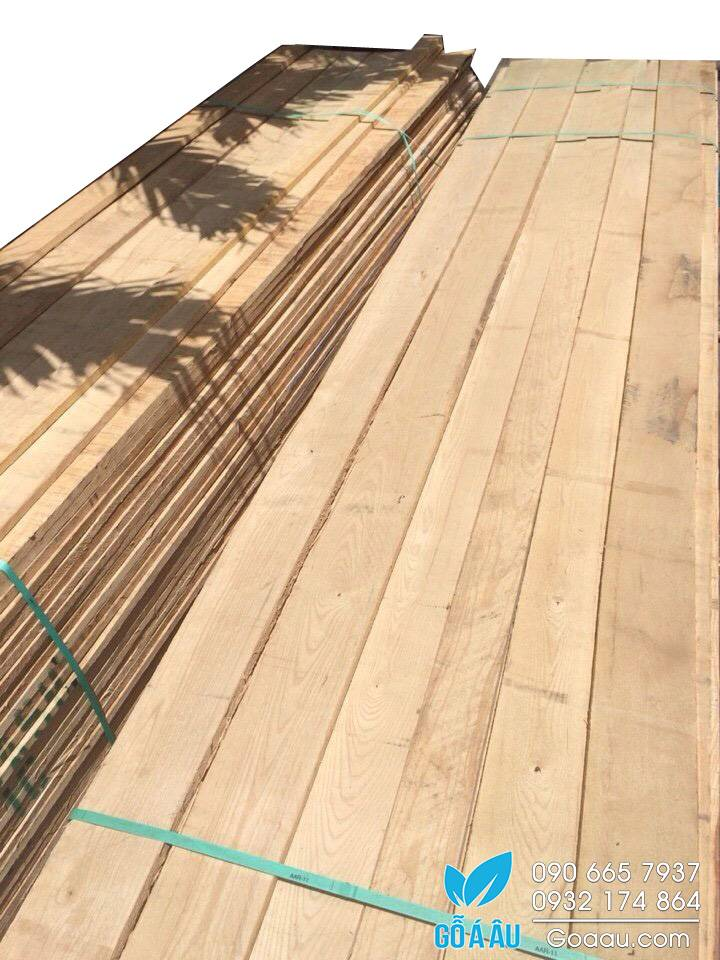 """Gỗ tần bì (gỗ ash) dày 4/4""""(25.4mm)"""
