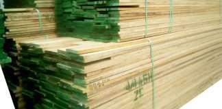 """Gỗ tần bì (gỗ ash) dày 4/4"""" = 25.4mm"""