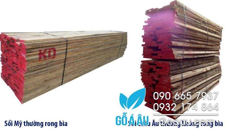phân biệt gỗ sồi mỹ và gỗ sồi châu âu