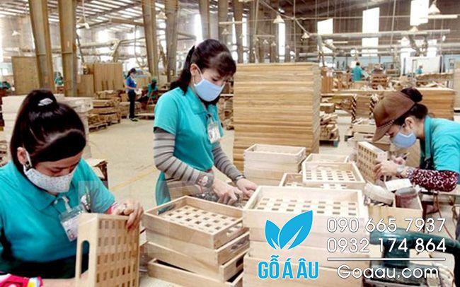 xuất khẩu gỗ và sản phẩm gỗ những tháng cuối năm 2018