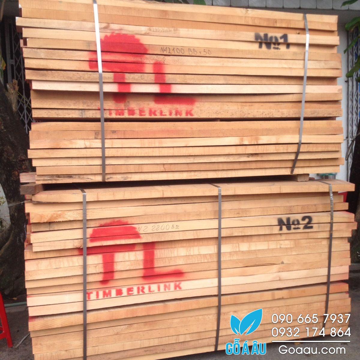 bán gỗ sồi đỏ giá rẻ ở tại bình dương
