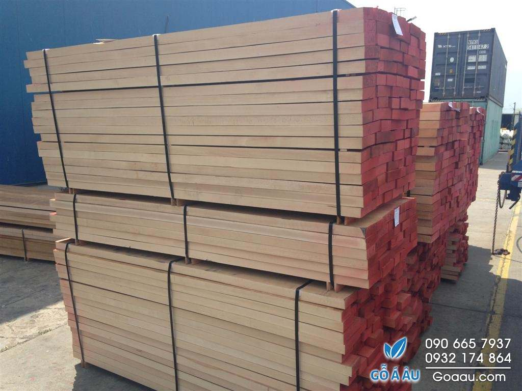 gỗ beech xẻ sấy