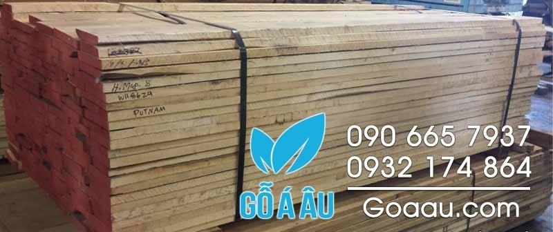 gỗ hard maple nguyên liệu