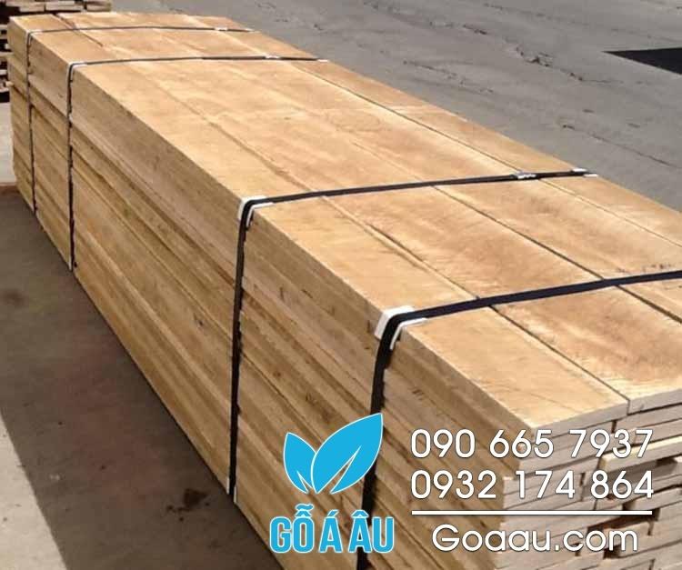 gỗ soft maple xẻ sấy