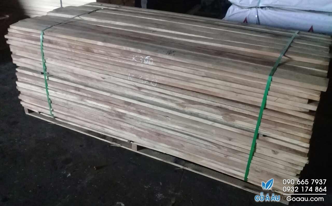 gỗ tếch nguyên liệu