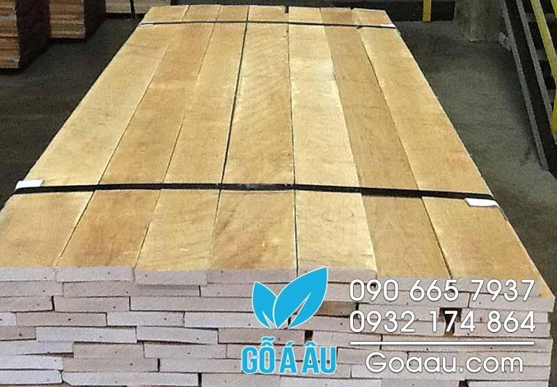 gỗ thích cứng xẻ sấy