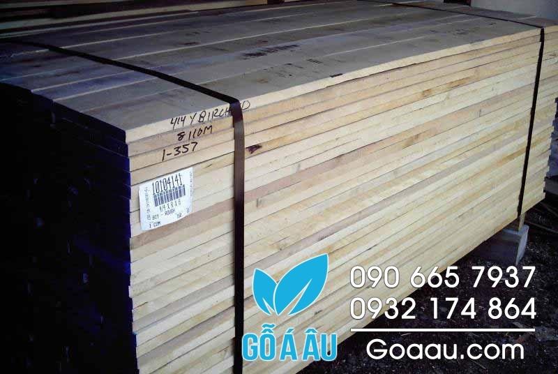 gỗ thích mềm nguyên liệu
