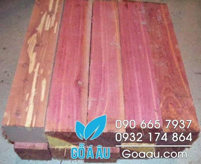 gỗ tuyết tùng đỏ