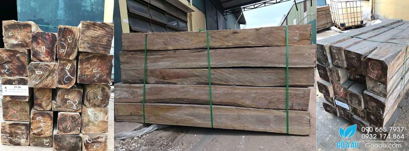 gỗ Teak hộp