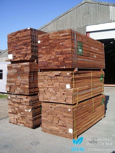 Giá gỗ Xoan Đào - Gỗ Xoan Đào xẻ sấy nhập khẩu
