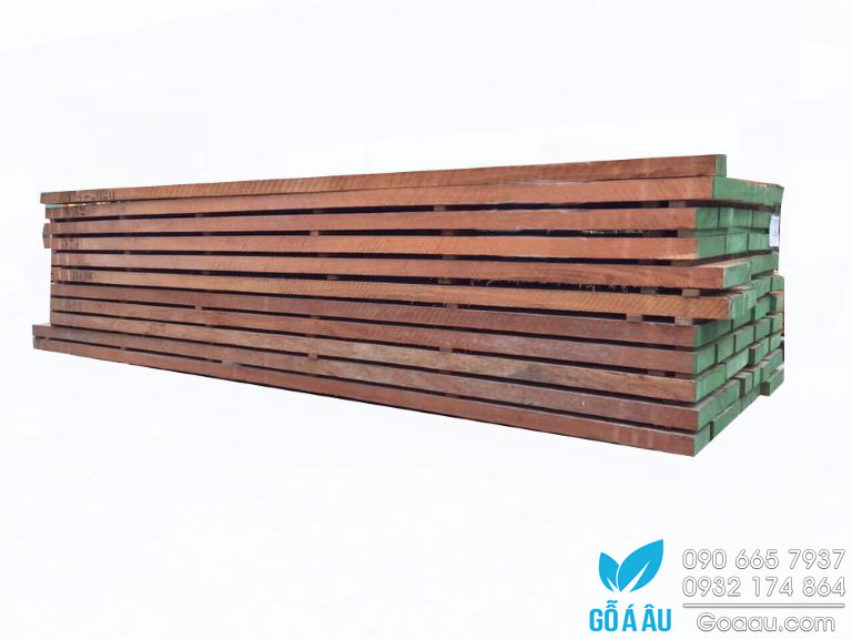 Giá gỗ Gõ đỏ - Kiện gỗ Gõ đỏ nhập khẩu