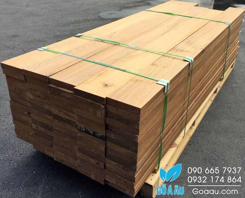 Báo giá gỗ Teak - Gỗ Teak xẻ sấy nhập khẩu nguyên kiện