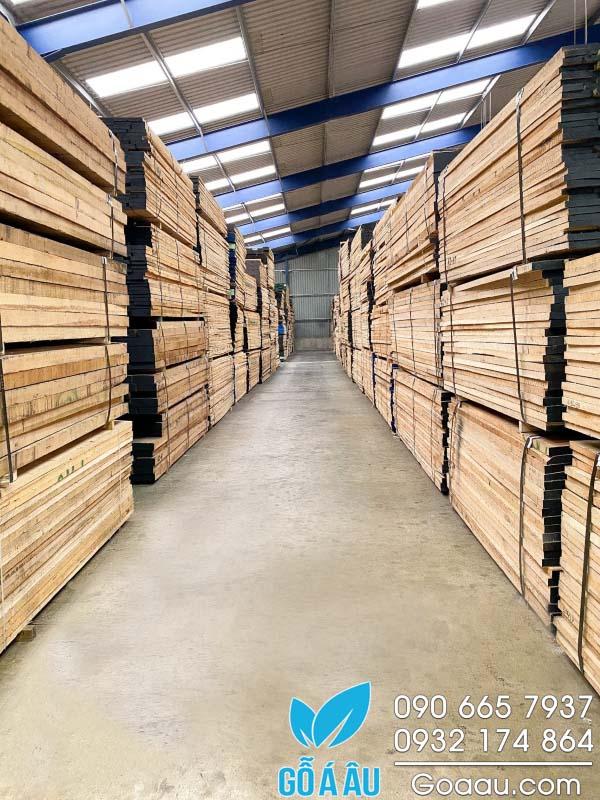 Gỗ Sồi Oak nhập khẩu nguyên kiện