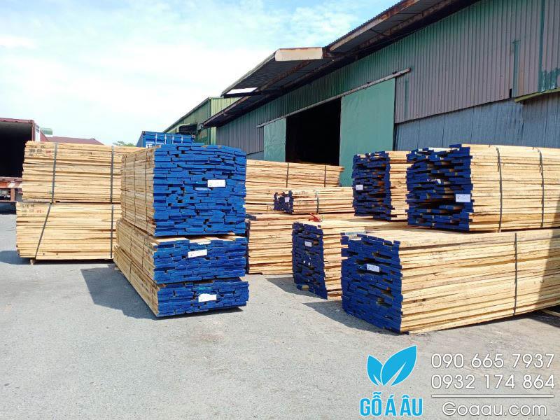 Giá gỗ Sồi Mỹ